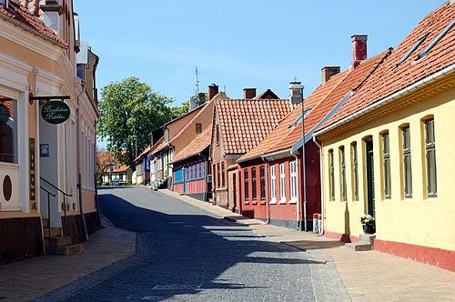 Gudhjem, Bornholm, Denmark бесплатно