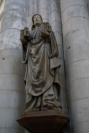 Robert of Molesme - Robert of Molesme, 15th century statue