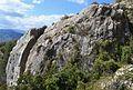 Roca badada al Montgó.jpg