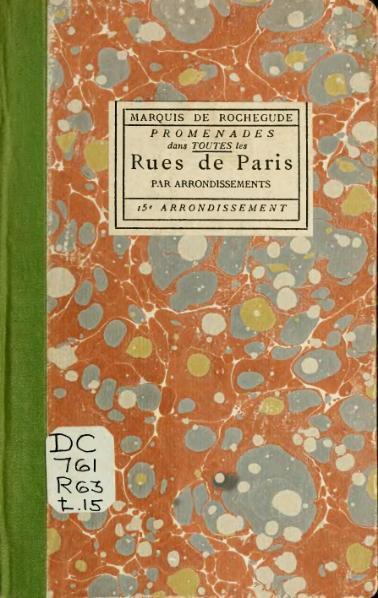File:Rochegude - Promenades dans toutes les rues de Paris, 15.djvu