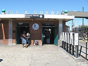 Canarsie–Rockaway Parkway (BMT Canarsie Line) - Station house