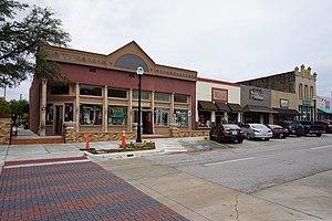 Rockwall, Texas - Rusk Street in Rockwall