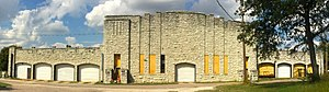 National Register of Historic Places listings in Pontotoc County, Oklahoma - Image: Roff Armory OK2