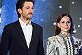 Rogue One- A Star Wars Story Japan Premiere Red Carpet- Diego Luna & Felicity Jones (35667403931).jpg