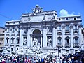 Roma - Fontana di Trevi - view of the facade - coldview from the small church on Piazza di Trevi - panoramio.jpg