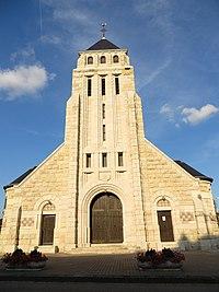 Romagne-sous-Montfaucon L'église Saint-Michel.JPG