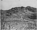 Roman Catholic Cathedral in background on hill, Nagasaki, circa 1945. - NARA - 519387.tif