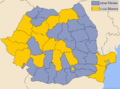 Romania presidentia2004 Run-off by county.png