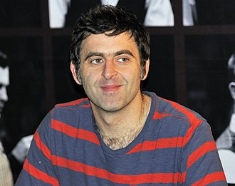 Professional snooker career of Ronnie O'Sullivan - Ronnie O'Sullivan at an autograph session in Berlin after he could not qualify for the German Masters