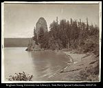Rooster Rock, Columbia River, O.&R.N.R.R. C.R. Savage, Photo..jpg