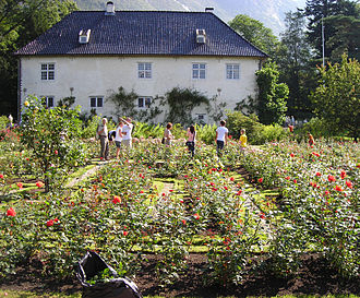 1661 in Norway - The Rosendal Manor.