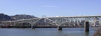 Ross Island Bridge - Image: Ross Island Bridge