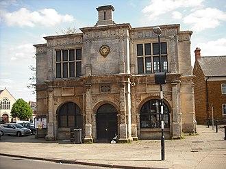 Rothwell, Northamptonshire - The Rothwell Market House