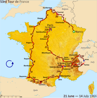 1966 Tour de France cycling race