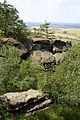 Rovinné opevněné sídliště Hrada a Klamorna, hrad Drábské světničky (4).jpg