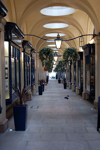 Her Majesty's Theatre - Royal Opera Arcade, 2008. Theatre entrance was from the left, now occupied by shops.