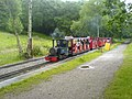 Rudyard Lake Steam Railway Train at Hunthouse Wood Station - geograph.org.uk - 475960.jpg