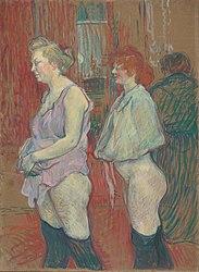 Henri de Toulouse-Lautrec: Rue des Moulins, 1894