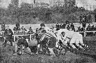 Real Madrid Rugby - The first game, Real Madrid v. Atlético Madrid, 1925