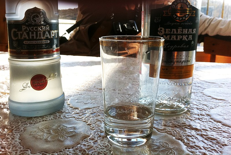 Bebidas na Rússia