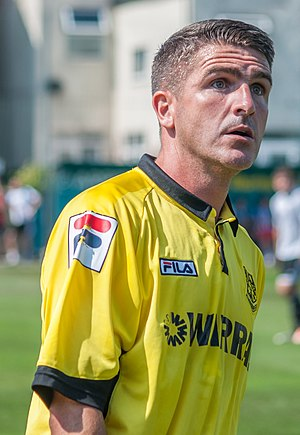 Ryan Lowe - Lowe playing for Tranmere Rovers in 2013