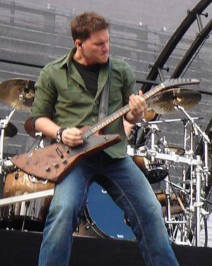 Ryan Peake - Peake performing in 2006