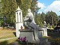 Rzeźba cmentarna na cmentarzu w Wasilkowie ul. Rabczyńskiego..JPG