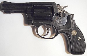Smith & Wesson Model 13 - Image: S&W Mod 13