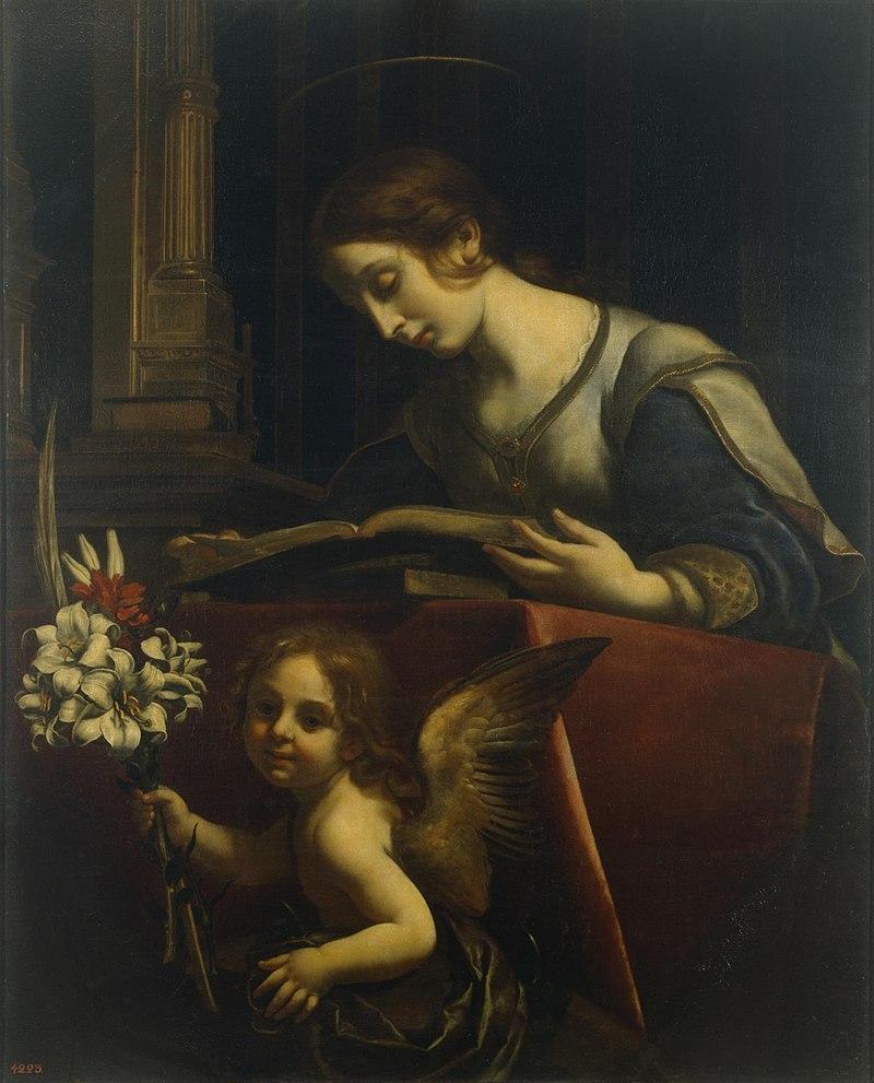 Святая Екатерина Александрийская - К.  Дольчи (ок. 1680, Эрмитаж) .jpg