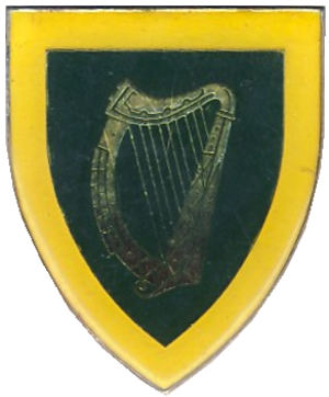 South African Irish Regiment - Image: SANDF South African Irish Regiment emblem