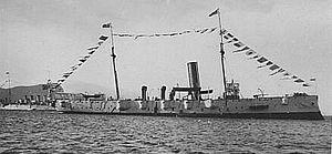 HMS Thames (1885) - General Botha in 1925