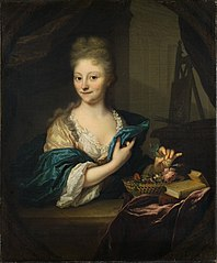 Portrait of Catharina Backer (1689-1766)