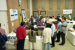 Southern California Linux Expo - Image: SCALE1X 031