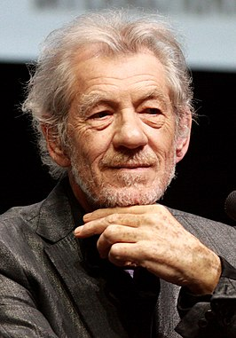 Sir Ian McKellen op de San Diego Comic-Con International in 2013