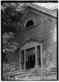 SECOND-FLOOR WINDOW BELOW WEST GABLE - The Wayside, Lexington Road, Concord, Middlesex County, MA HABS MASS,9-CON,9-10.tif