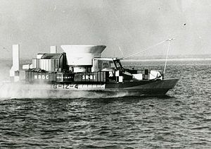 Today in history… first hovercraft makes it maiden voyage