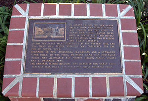 San Ramon Valley High School - Historical plaque