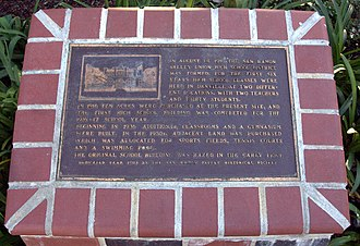 San Ramon Valley High School - Historical plaque
