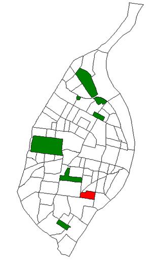 Gravois Park, St. Louis - Image: STL Neighborhood Map 19