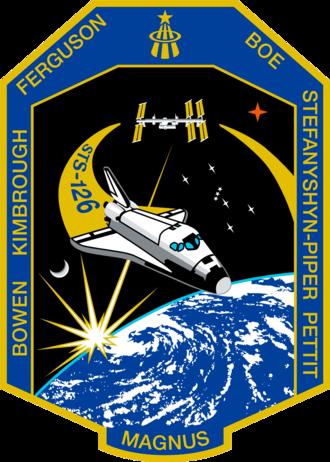 Christopher Ferguson - Image: STS 126 patch