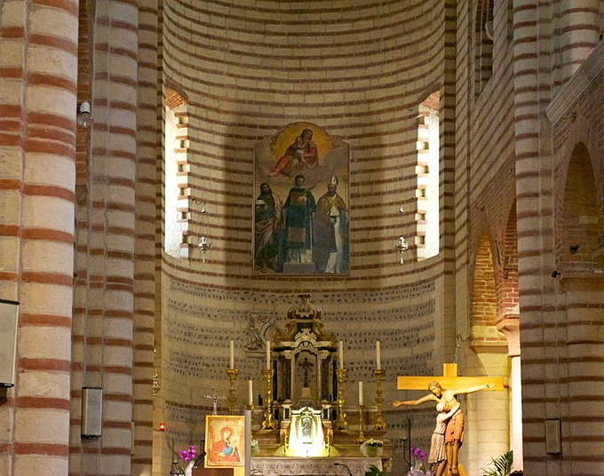 S lorenzo vr abside