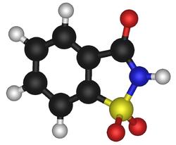 Mod�le mol�culaire de la saccharine