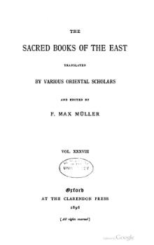 Sacred Books of the East - Volume 38.djvu