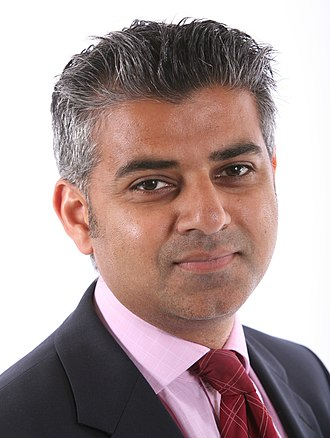 Islam in England - Sadiq Khan, a British Pakistani and the first Muslim elected as Mayor of London.