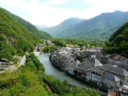 Saint-Béat village (1)