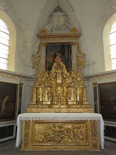 Saint-Boingt (M-et-M) église, autel central