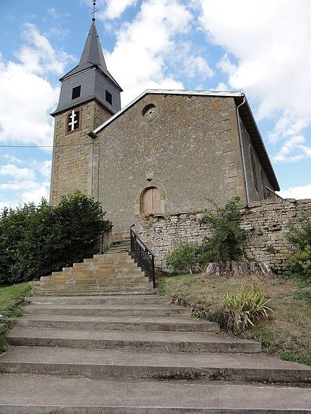 Saint-Supplet (Meurthe-et-M.) église