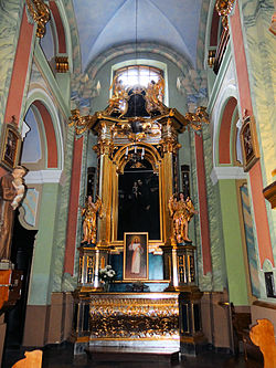 Saint Anne church in Lubartów - Interior - 17.jpg