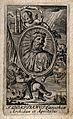 Saint Domitian of Carinthia. Engraving. Wellcome V0033293.jpg