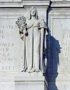 """Saint Gaudens' """"Agriculture,"""" at Union Station, Washington, D.C LCCN2011631002"""